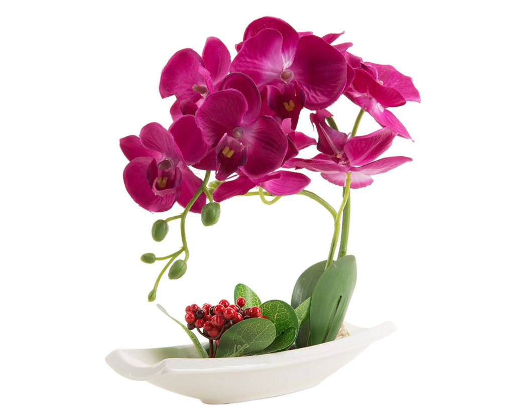 Lovely orchid artificial flowers